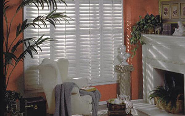 Custom Interior Shutters Living Room