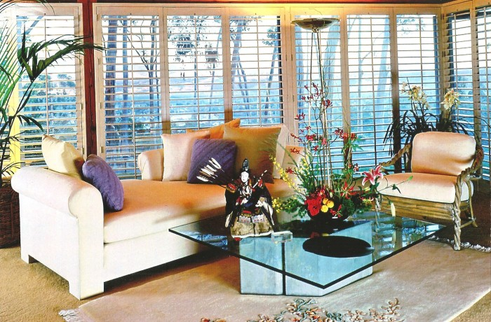 San Diego Custom Living Room Shutters