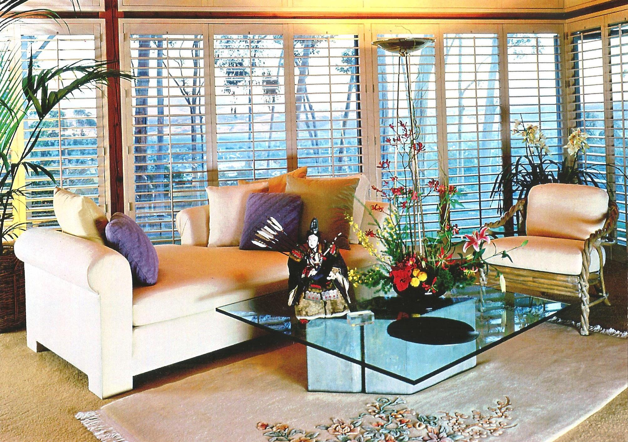 Living Room San Diego : San Diego Custom Living Room Shutters - Shuttermart San Diego