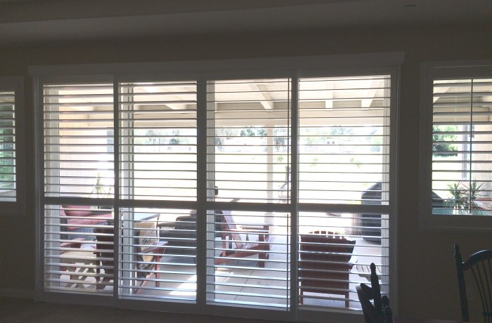 Patio Shutters | Closed