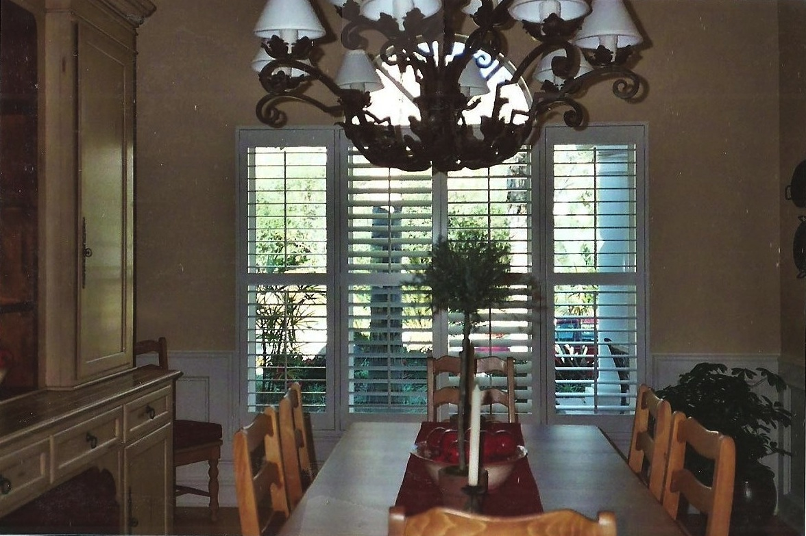 For The Living Room- Interior Shutters - Custom Shutters - Vinyl Shutters - Wood Shutters - Plantation Shutters