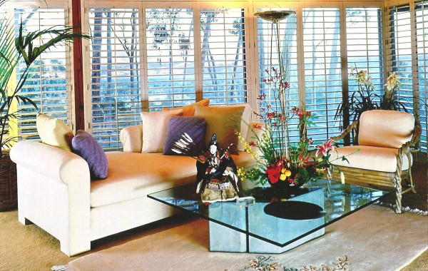 San Diego Custom Living Room Shutters