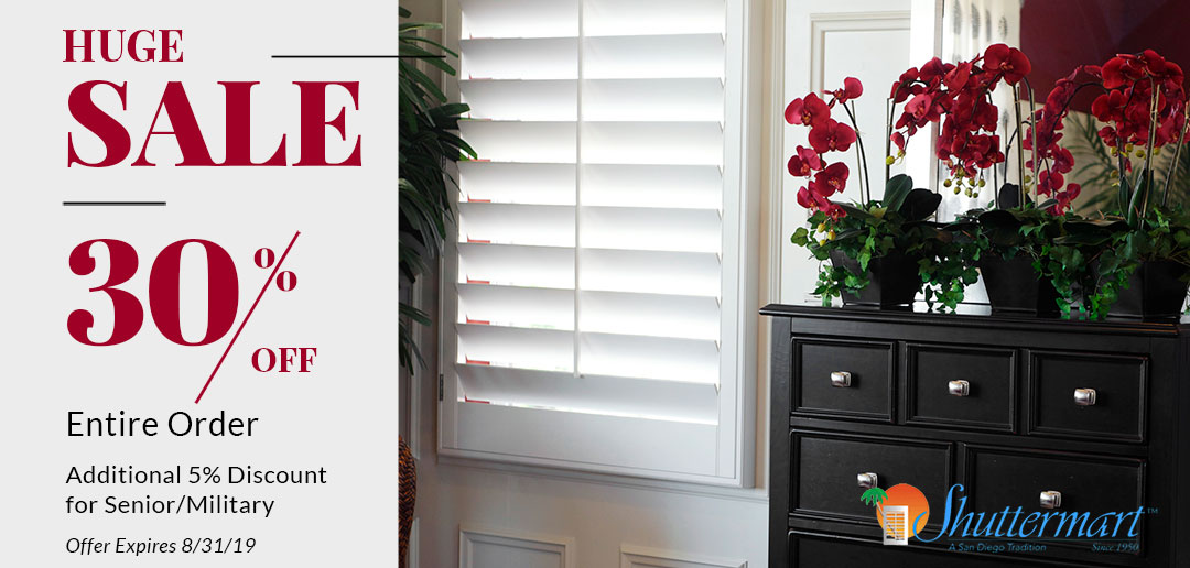 Interior Shutters In San Diego By Shuttermart   Over 50 ...